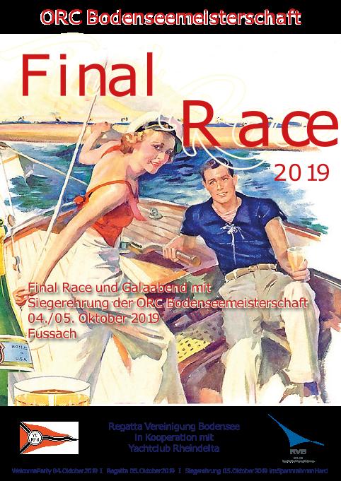 RVB Final Race 2019 beim Yachtclub Rheindelta